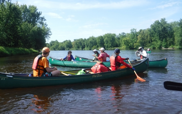 st. croix riverway canoeing
